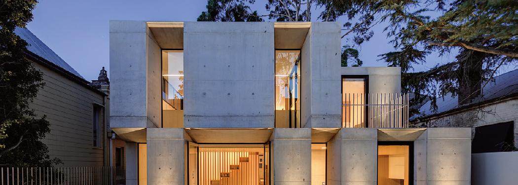 Glebe House, Sydney, Australia, Betonitalo.fi